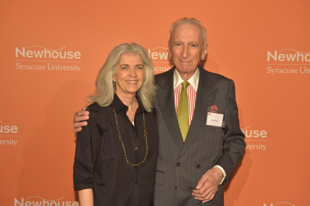 Roberta Spring and Gay Talese